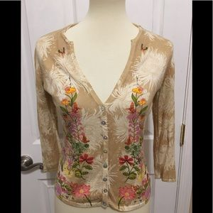 Anthropologie Odille Cardigan Size S